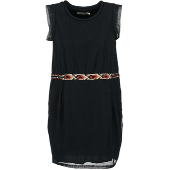 material Women Short Dresses See U Soon MOREPEN Black