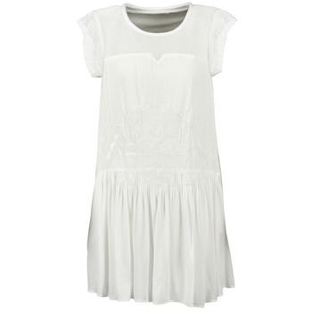 material Women Short Dresses See U Soon KELLITS White