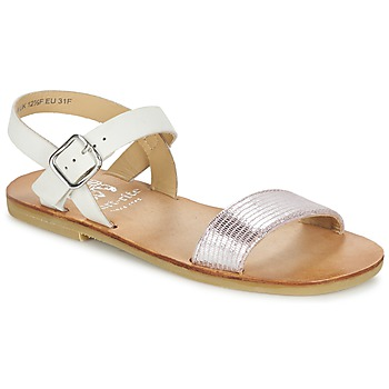 Shoes Girl Sandals Start Rite FLORA II Pink / White