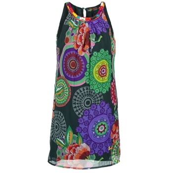 material Women Short Dresses Desigual ESTOLE Multicoloured