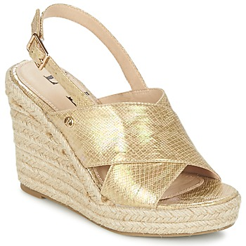 Shoes Women Sandals Elle CAMPO BEIGE / Gold