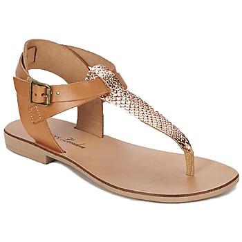 Sandals Betty London VITALLA CAMEL / Pink 350x350