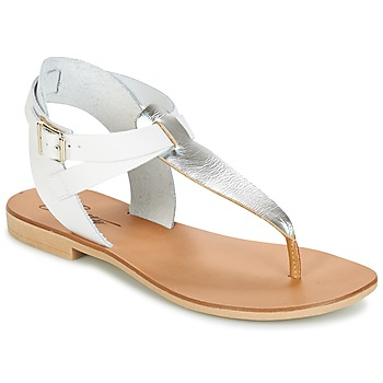 Shoes Women Sandals Betty London VITALLA Silver / White
