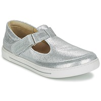 Shoes Girl Ballerinas Birkenstock ABILENE Silver