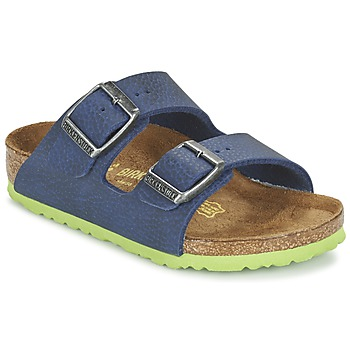 Shoes Children Mules Birkenstock ARIZONA Blue