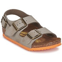 Shoes Children Sandals Birkenstock MILANO TAUPE