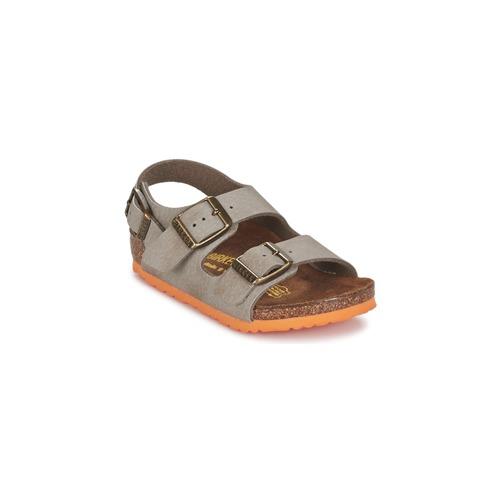 Shoes Boy Sandals Birkenstock MILANO Taupe
