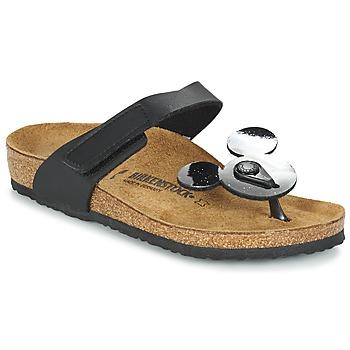 Shoes Children Flip flops Birkenstock TOFINO MICKEY Black