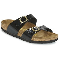 Shoes Women Sandals Birkenstock SYDNEY Black / VARNISH
