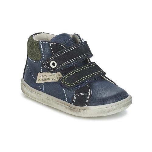 Shoes Boy Mid boots Primigi CHRIS Blue