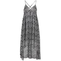 material Women Long Dresses Le Temps des Cerises LUNE Black / White