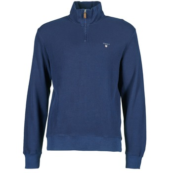 material Men jumpers Gant HONEYCOMB SWEAT MARINE