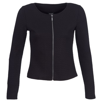 material Women Jackets / Blazers Vila VINAJA Black
