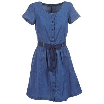 material Women Short Dresses Vila VIKARI Blue / Medium