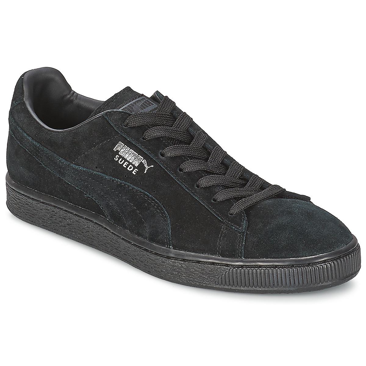 Puma SUEDE CLASSIC Black / Grey - Fast