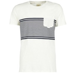 material Men short-sleeved t-shirts Selected LIAM White