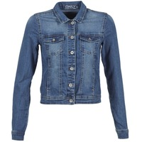 material Women Denim jackets Only NEW WESTA Blue / MEDIUM
