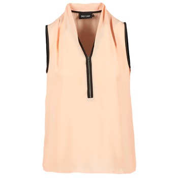 material Women Blouses Only FIA ZIP Orange / Pastel / Black