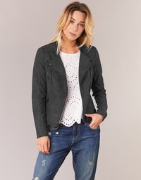 material Women Leather jackets / Imitation leather Only AVA Black