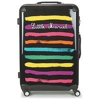 Bags Women Hard Suitcases Little Marcel MALTE-75 Black / Multicoloured