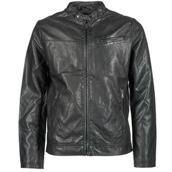 material Men Leather jackets / Imitation leather Celio DUBIKER Black