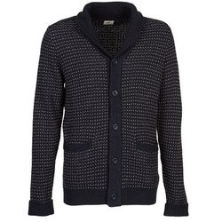 material Men Jackets / Cardigans Lee SHAWL CARDIGAN Blue