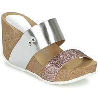 Shoes Women Mules Ganadora FLORA Silver