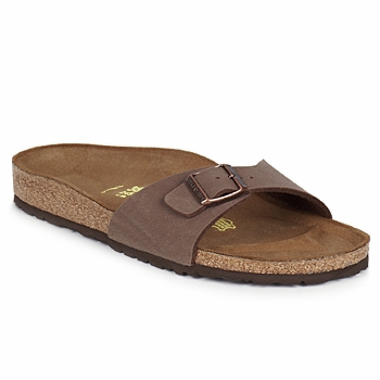 Shoes Women Mules Birkenstock MADRID Brown