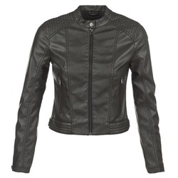 material Women Leather jackets / Imitation leather S.Oliver VERDUNE Black