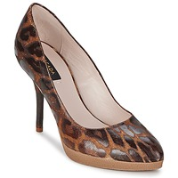 Shoes Women Court shoes Escada AS701 Brown / Leopard