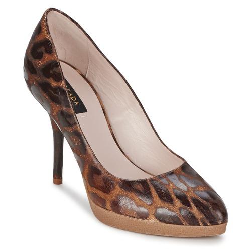 Shoes Women Court shoes Escada AS701 Brown / Leopard