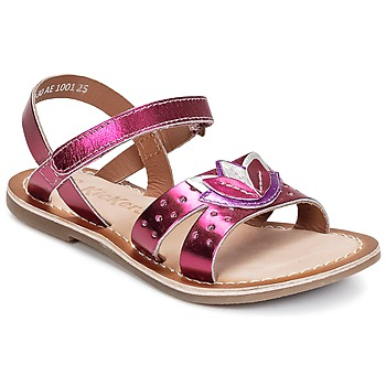 Shoes Girl Sandals Kickers DIX Fuschia