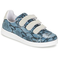Shoes Women Low top trainers Yurban ETOUNATE Blue / Jeans