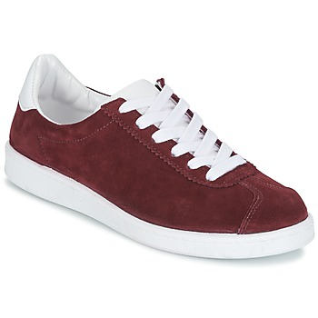 Shoes Women Low top trainers Yurban EMARTI Bordeaux