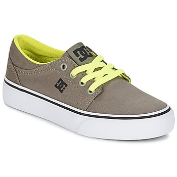 Shoes Boy Low top trainers DC Shoes TRASE TX Taupe