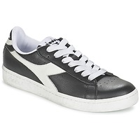 Shoes Low top trainers Diadora GAME L LOW Black / White