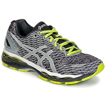 Shoes Men Running shoes Asics GEL-NIMBUS 18 LITE-SHOW Grey