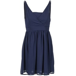 material Women Short Dresses Betty London ESQUIVI MARINE