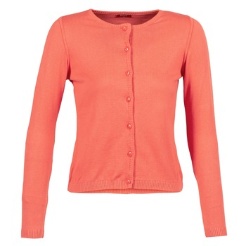 material Women Jackets / Cardigans BOTD EVANITOA Coral