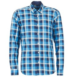 material Men long-sleeved shirts Casual Attitude ECARI Blue