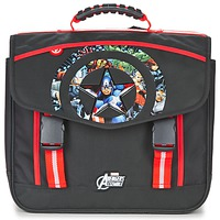 Bags Boy Satchels Dessins Animés AVENGERS CARTABLE 41CM Black