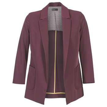 material Women Jackets / Blazers Benetton GULO Prune