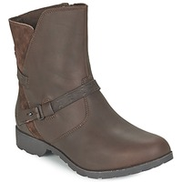 Shoes Women Mid boots Teva DELAVINA LOW Brown