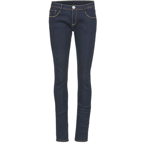 material Women slim jeans Yurban IETOULETTE Blue / Raw