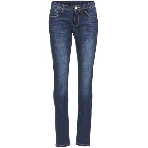 material Women slim jeans Yurban IETOULETTE Blue / Medium
