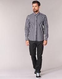 material Men straight jeans Yurban EDABALO Black