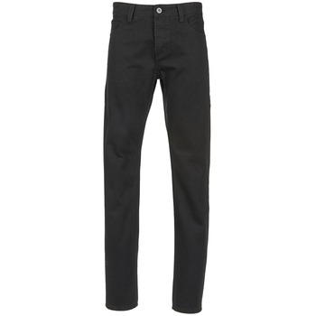 material Men straight jeans Yurban EDABALO Black