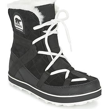 Shoes Women Snow boots Sorel GLACY EXPLORER SHORTIE Black