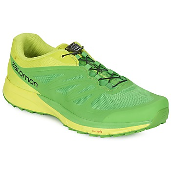 Shoes Men Running shoes Salomon SENSE PRO 2 Green / Black