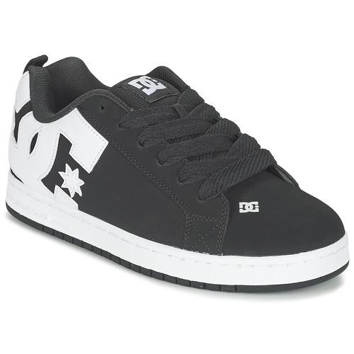 DC Shoes COURT GRAFFIK Black - Fast
